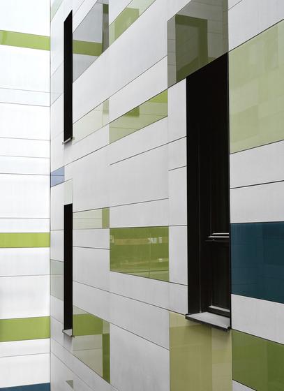 Artur G.I.E. Hospital, Esch-sur-Alzette by Rieder | Facade systems
