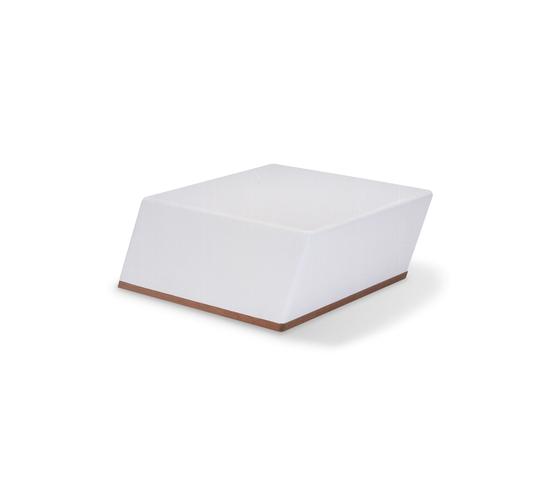 Univers basic module by Fischer Möbel | Garden stools