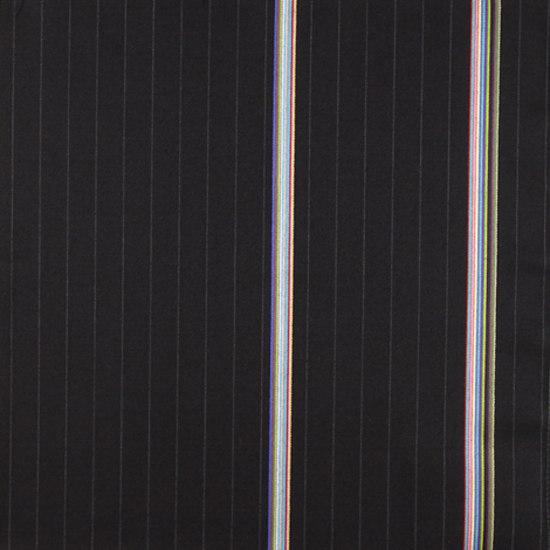 Bespoke Stripe 005 Black by Maharam | Fabrics