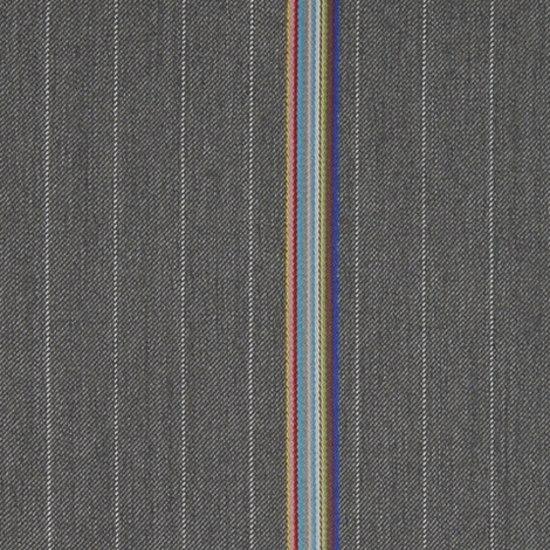 Bespoke Stripe 006 Pewter by Maharam   Fabrics