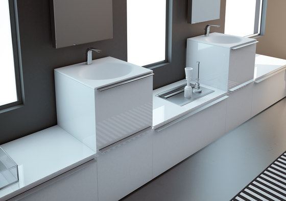 Ka Bathroom Furniture Set 8 di Inbani | Mobili lavabo