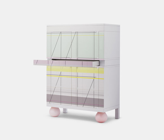 Amsterdam Armoir by Established&Sons | Drinks cabinets