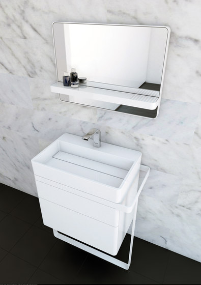 Structure Bathroom Furniture Set 10 di Inbani | Mobili lavabo