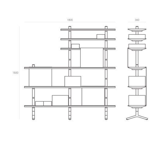 Epos by Foundry | Shelves