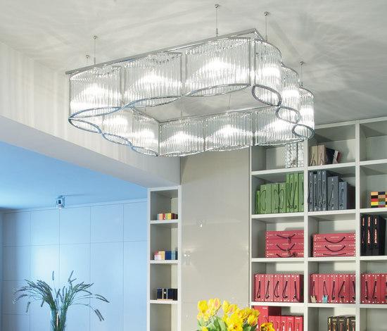 Stilio square di Licht im Raum | Lampade sospensione