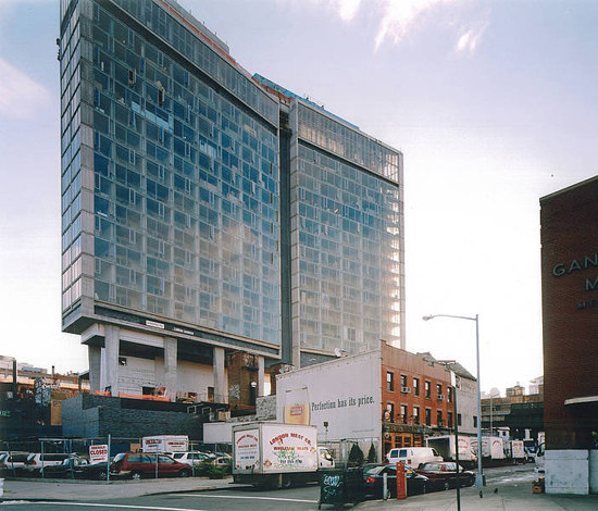 The Standard Hotel - New York City by Rieder | Facade systems