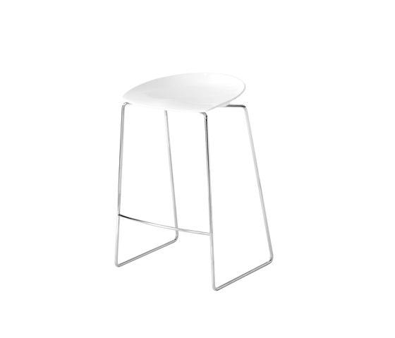 Flan stool von Desalto | Barhocker