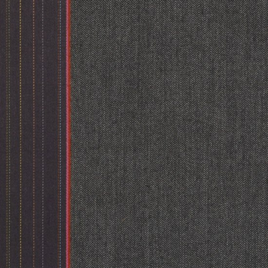 Herringbone Stripe 001 Granite by Maharam | Fabrics
