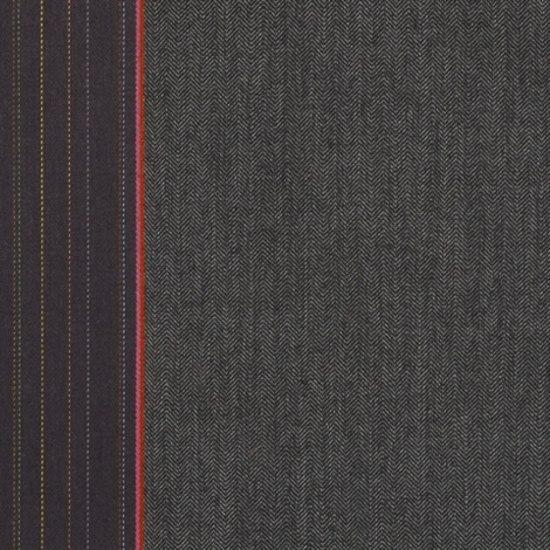 Herringbone Stripe 001 Granite de Maharam | Tissus