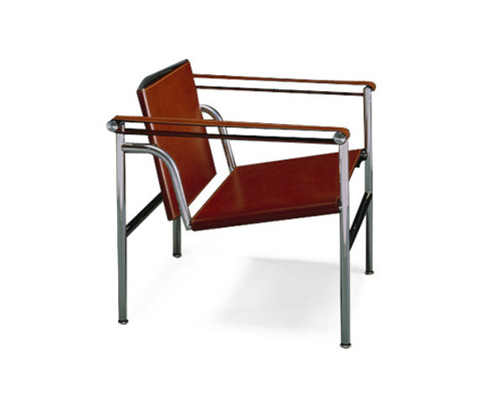 Lc1 loungesessel von cassina architonic - Le corbusier sedia ...