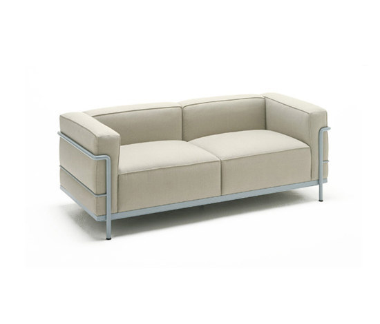 Lc3 di cassina divano poltrona m ridienne divano - Meridienne le corbusier ...