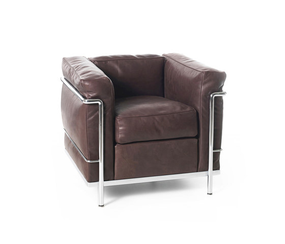 LC2 armchair by Cassina | Armchairs