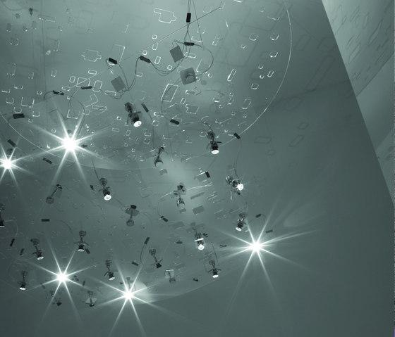 Fractals luminarias de suspensión de Artemide | Iluminación general