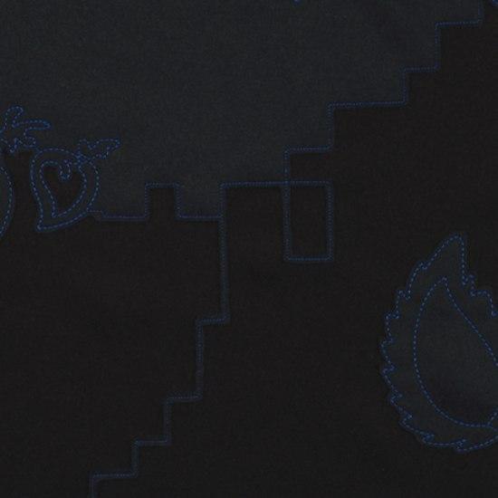 Layers Garden Double 003 Black/Navy/Cobalt by Maharam | Fabrics