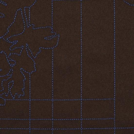 Layers Park 005 Earth/Cobalt di Maharam | Tessuti