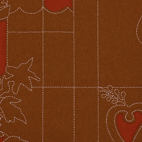 Layers Park Double 002 Sienna/Ginger/Rose by Maharam | Fabrics