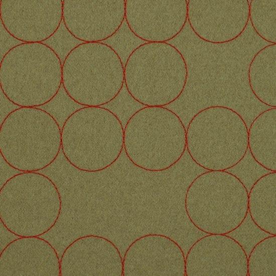 Layers Vineyard Large 004 Taupe/Crimson by Maharam | Fabrics
