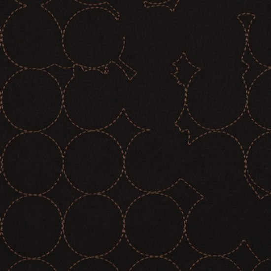 Layers Vineyard Large 005 Black/Mahogany by Maharam | Fabrics