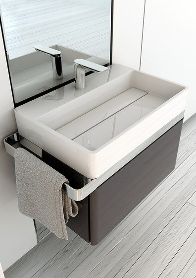 Structure Countertop MineralMarmo® Washbasin by Inbani | Wash basins
