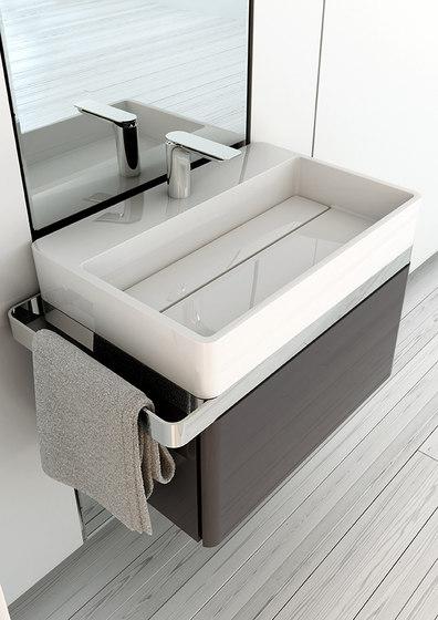 Structure Countertop MineralMarmo® Washbasin von Inbani | Waschtische