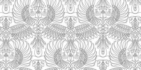 Birds 001 Unique de Maharam | Revestimientos de paredes / papeles pintados