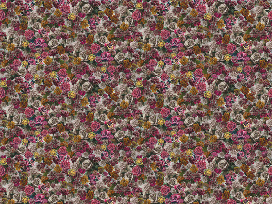 Hand Tinted Rose 001 Unique by Maharam | Wall coverings / wallpapers