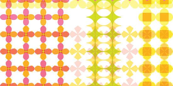 Pattern Plaid 001 Unique von Maharam | Wandbeläge / Tapeten