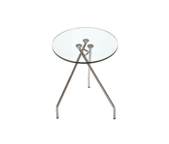 Forum glas table by Magnus Olesen | Side tables