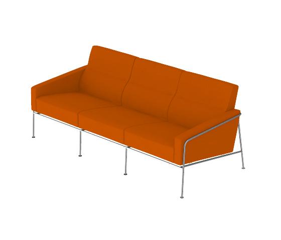 Modell 3303 von Fritz Hansen | Loungesofas