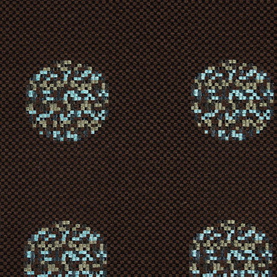 Repeat Dot Pixel 003 Chocolate di Maharam | Tessuti