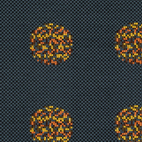 Repeat Dot Pixel 004 Slate by Maharam | Fabrics