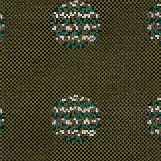 Repeat Dot Pixel 002 Evergreen by Maharam | Fabrics