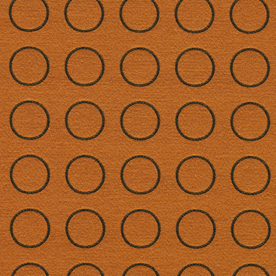 Repeat Dot Ring 002 Sienna by Maharam | Fabrics
