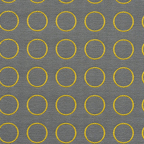 Repeat Dot Ring 007 Gold Reverse by Maharam | Fabrics