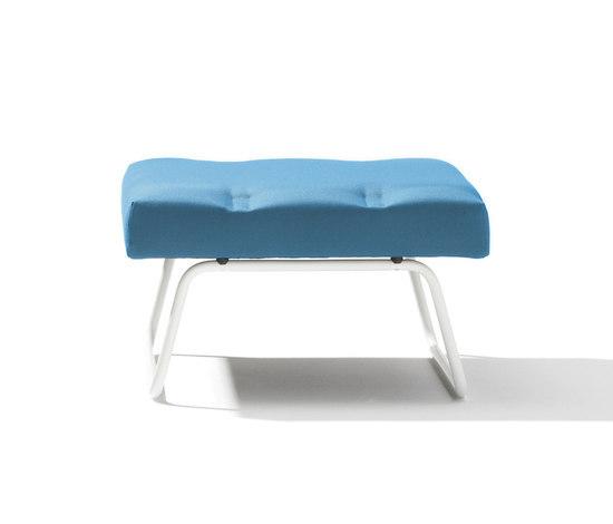 Lounge stool Hirche Outdoor di Lampert | Sgabelli da giardino