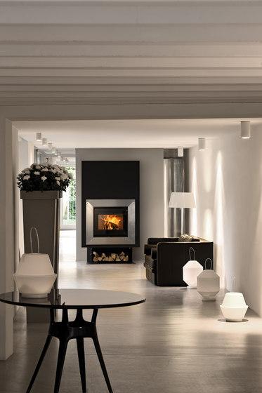 Libero Gabbiano Inox | Vivo 70 Wood by MCZ | Wood burning stoves