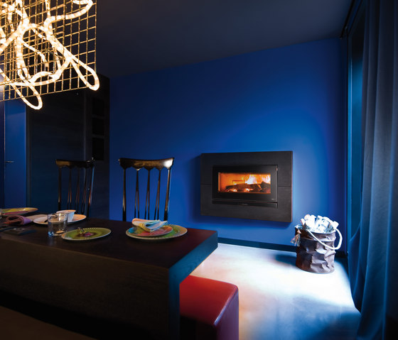 Prime   Vivo 90 Wood by MCZ   Wood fireplaces