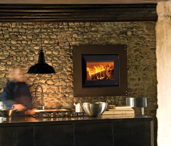 Gabbiano Ruggine | Vivo 70 Wood de MCZ | Chimeneas de leña