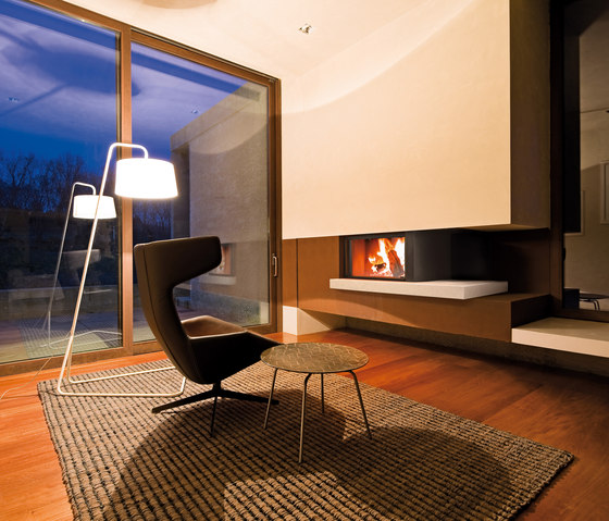 Modigliani | Forma 95 Wood by MCZ | Wood fireplaces