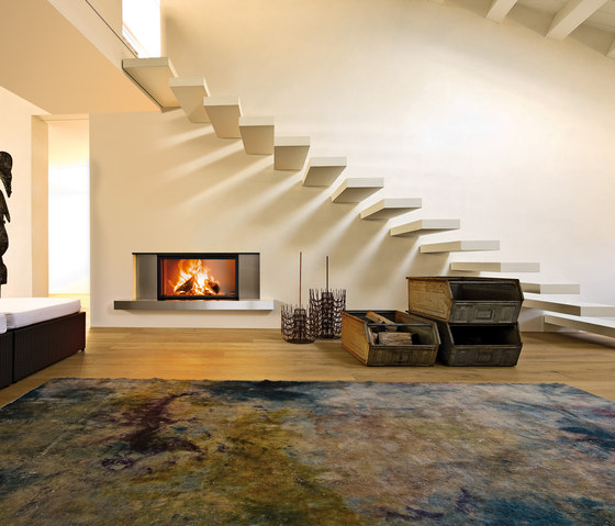 Guttuso | Forma 95 Wood by MCZ | Wood fireplaces