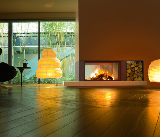 Gaudi | Forma B95 Wood by MCZ | Wood fireplaces