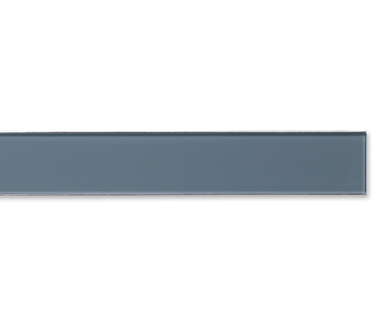 ACO ShowerDrain E-line gerade Glas, grau by ACO Haustechnik | Linear drains