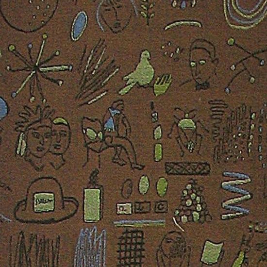 The Story of My Life 005 Coffee by Maharam | Upholstery fabrics