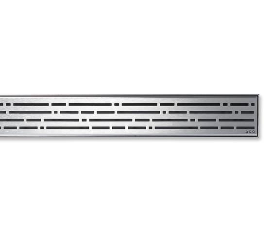 ACO ShowerDrain E-line angled Mix by ACO Haustechnik | Linear drains