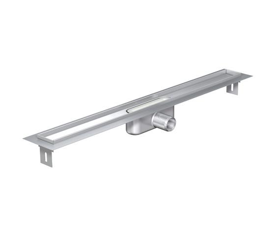 ACO ShowerDrain C-line gerade TZ Rinne by ACO Haustechnik | Linear drains