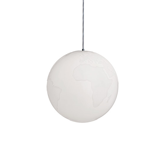 Planet Earth Suspension lamp by Formagenda | General lighting