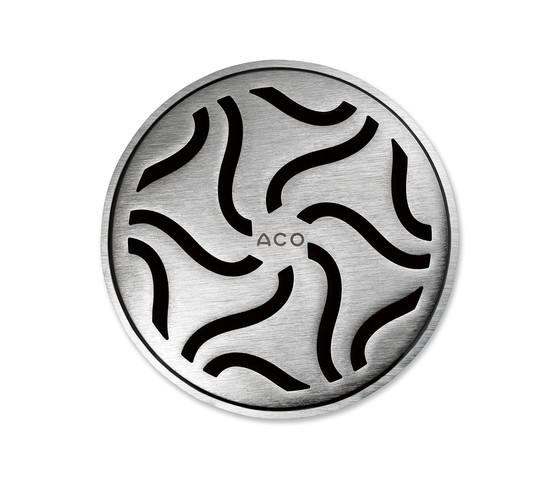 ACO ShowerDrain Badablauf round Hawaii by ACO Haustechnik | Plate drains