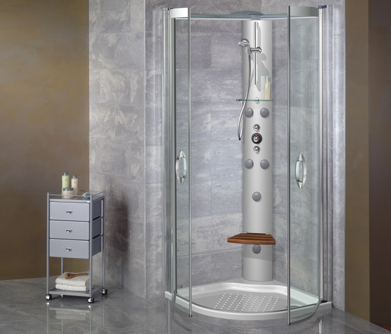 Advant cabinas de ducha de roca architonic - Cabinas de ducha rectangulares ...
