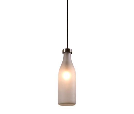 Milk bottle lamp single by Droog | General lighting