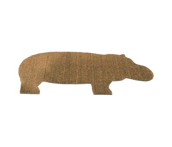 Hippo mat by Droog | Door mats